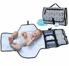 Easy to Clean Portable Changing Pad with Soft Head Pillow Binky Case