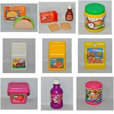 Vintage Little Tikes Pretend Play Food Kitchen Pieces Fun With Food 0619!