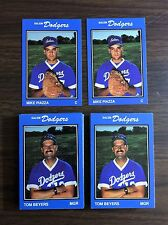 1989 Salem Dodgers MIKE PIAZZA, HOF (RC) Minor League Team Issued UNOPEN set H88