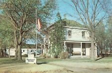 Postcard Boyhood Home of President Eisenhower Abilene Kansas