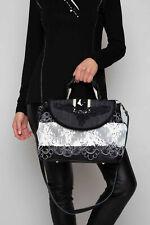 Elisa Cavaletti Tasche Bag schwarz Leder ELW200686501 Herbst Winter 2020 2021