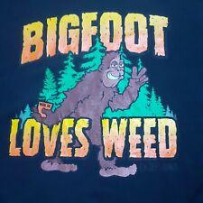 Big Foot Loves Weed T-Shirt