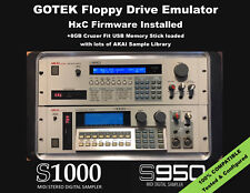 Floppy Drive Emulator HxC Firmware for AKAI S-1000 S-950 SAMPLE LIBRARY INCLUDED