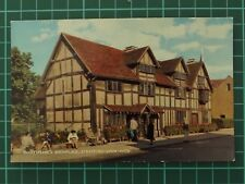 Shakespeares Birthplace, Stratford-Upon-Avon Postcard
