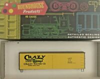 HO scale Roundhouse 36' Billboard  Car  Crazy Water Crystals  vintage ART  412