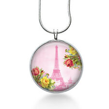 Paris Eiffel Tower Necklace Pendant, Romantic Gift For Her,Traveler Jewelry