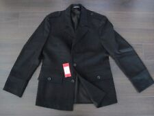 NWT Hugo Boss Red Label Wool Black Coat Jacket sz. 52
