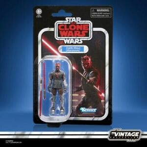Star Wars The Vintage Collection Darth Maul Mandalore Clone Wars Action Figure