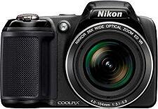 Nikon COOLPIX L330 20.2MP Digital Camera - Black
