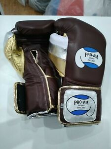 Campeon/Pro-am Professional training gloves, hook and loop, 16oz, like Reyes etc