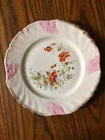 Antique KPM Porcelain Krister Porzellan-Manufaktur Floral Plate Vintage Estate