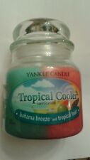 YANKEE CANDLE JAR TROPICAL COOLER SWIRL  12 OZ COMBINE!