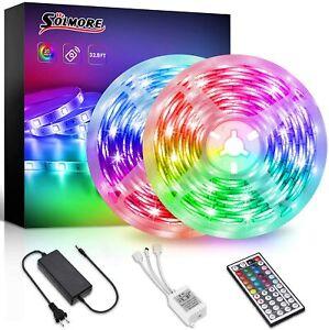 LED Strip Light 32.8FT/10M  RGB LED Strips Color Changing 300LED Light Strips
