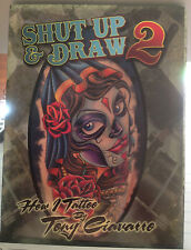 Shut Up and Draw 2 Tattoo Artist Instructional DVD Tony Ciavarro Tattooer Body