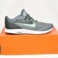 Nike Downshifter 9 Athletic Mens Shoes 8.5 AR4946-001 Gray Green New In Box