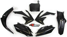 Honda CRF450 R 2009 - 2010 RTECH Black Replica Plastic Kit