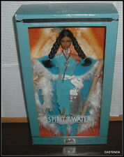 NRFB BARBIE (B) MATTEL SECOND IN SERIES SPIRIT OF THE WATER NATIVE AMERICAN DOLL