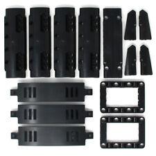 Lego 14x Genuine Technic Black Studless Panels Fairings Bricks Parts - NEW