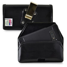 Galaxy S10e Holster Metal Clip Case Pouch Leather Turtleback