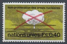 UNO Genf 1972 ** Mi.23 Kernwaffensperrvertrag Atompilz