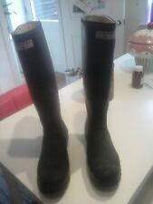 Ladies  size  5   (38) navy  hunter  wellingtons