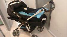 Carrito bebé Jané azul: 2 piezas: cuco capazo y silla. Usado pero en buen estado