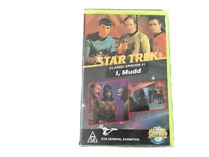 """Star Trek  VHS Classic Episode 41  """"I, MUDD"""" Good Condition. Rated G"""