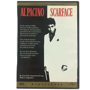 SCARFACE AL PACINO COLLECTOR'S EDITION DVD WIDESCREEN Region 1