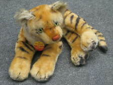 Steiff Original Tiger Cub #0910/28 Laying Down with tags.