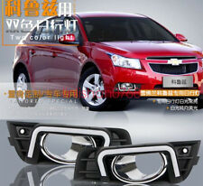 2pcs for Chevrolet Cruze 2009+ LED DRL Daytime Running Light Fog Lamp Cover