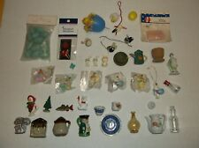 LOT 39~MINIATURES~VTG TO NOW~BOTTLES,TEAPOTS, ANIMALS, HOLIDAY,,ETC~EASTER CRAFT