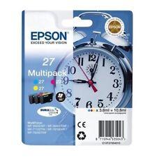 3 Orig. EPSON Tintenpatronen 27 Multipack 3er Set Neuware Angebot!!