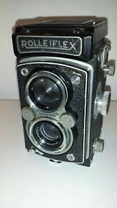 Rolleiflex  Compur-Rapid Frank & Heidecke BRUNSCHWEIG in leather case