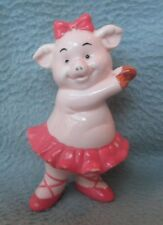 Danbury Mint Piggies SWINE LAKE  Pig Figurine Figure Ballet Dancer