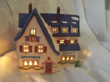 Dept 56 Alpine Village Apotheke, 65407, Retired 1997, Euc, No Box