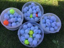 Pre-owned Golf Balls 40xMixed Brands Titleist,Callaway,Srixon And More Grade A/B