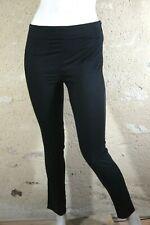 CAROLL Taille 34 Superbe pantalon noir femme chino