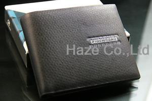 New Stylish Men's Leather Wallet Pocket Card Clutch Bifold Purse wallet Black