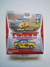 CARS Disney pixar cars 2013 RACE OFFICIAL TOM mattel piston cup 18/18 maclama