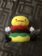 Friends With You Mr TTT Burger Plush 2004 SIGNED by Tury / Sam Of Friendswithyou