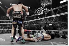 JUAN MANUEL MARQUEZ PRE SIGNED PHOTO PRINT POSTER - 12 X 8 INCH - TOP QUALITY