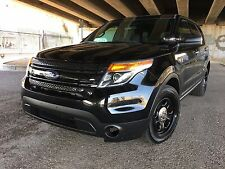 2013 Ford Explorer Police Utility
