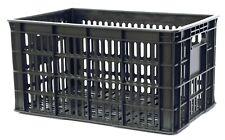 29qt Milk Crate Heavy Duty Stackable Plastic Dairy Basket 18.5