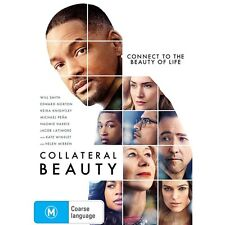 COLLATERAL BEAUTY-DVD-Will Smith, Kate Winslet-Region 4-New AND Sealed
