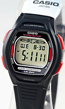 Casio LW-201-4AV Ladies Black Digital Watch 10 Year Battery Sport Dual Time New