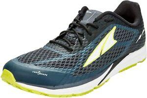 ALTRA Men's Viho Road Running Shoe, Dark Slate/Lime, 11.5 D(M) US
