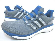 ADIDAS PERFORMANCE MEN'S ENERGY BOOST 3 M RUNNING SHOES,GREY/BLUE,US SIZE 10 M