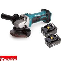 Makita DGA452Z 18v 115mm LXT Angle Grinder With 2 x 3Ah Batteries