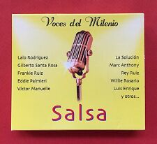 Voces Del Milenio Salsa Various Artists 2CD Box Set CD AJ 2000 Puerto Rico