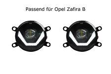 LED Nebelscheinwerfer + Tagfahrlicht Black Cree Chip Opel Zafira B OPC LSW4